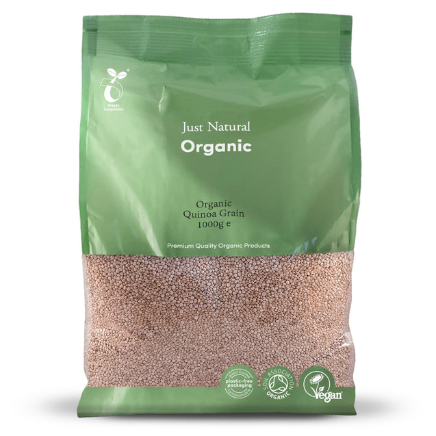 Just Natural Organic Quinoa Grain 1000g