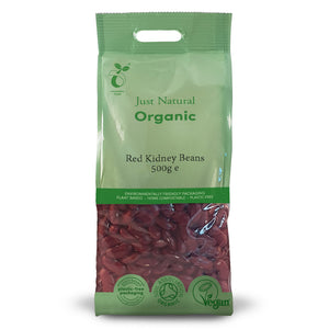 Just Natural Organic Red Kidney Beans 500g