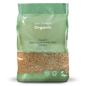 Just Natural Organic Short Grain Brown Rice 1000g