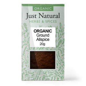 Just Natural Organic Ground Allspice 20g