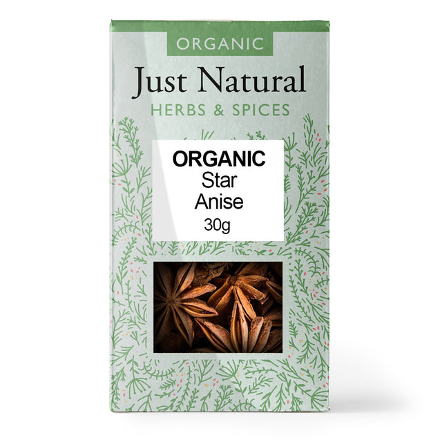 Just Natural Organic Anise Star 15g