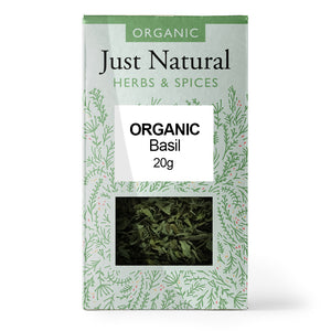 Just Natural Organic Basil 20g