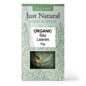 Just Natural Organic Bay Leaves 10g