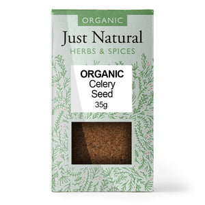 Just Natural Organic Celery Seed 35g