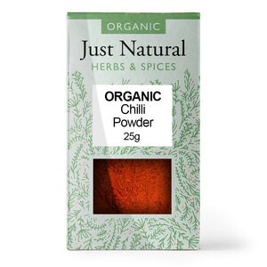 Just Natural Organic Ground Chilli 25g