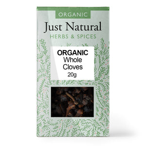 Just Natural Organic Cloves Whole 20g