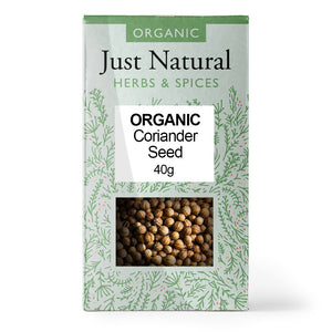 Just Natural Organic Coriander Seed 40g