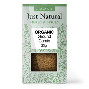 Just Natural Organic Ground Cumin 25g
