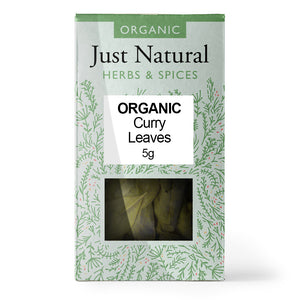 Just Natural Organic Curry Leaves 5g