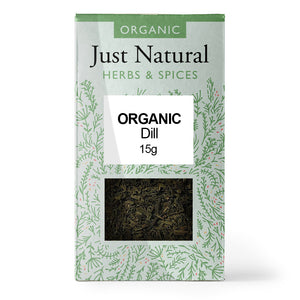 Just Natural Organic Dill Herb 15g