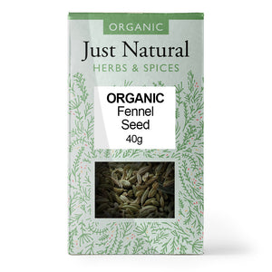 Just Natural Organic Fennel Seed 40g