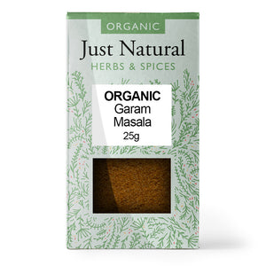 Just Natural Organic Garam Masala 25g