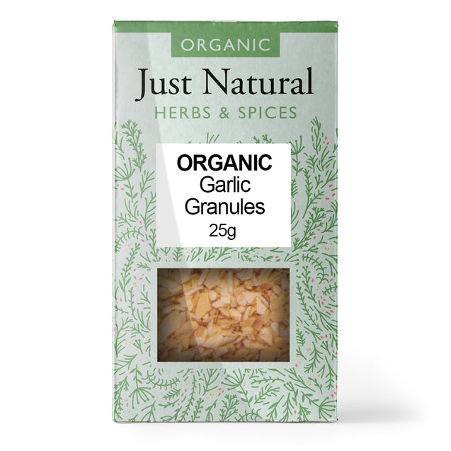 Just Natural Organic Garlic Granules 25g