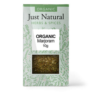 Just Natural Organic Marjoram 10g