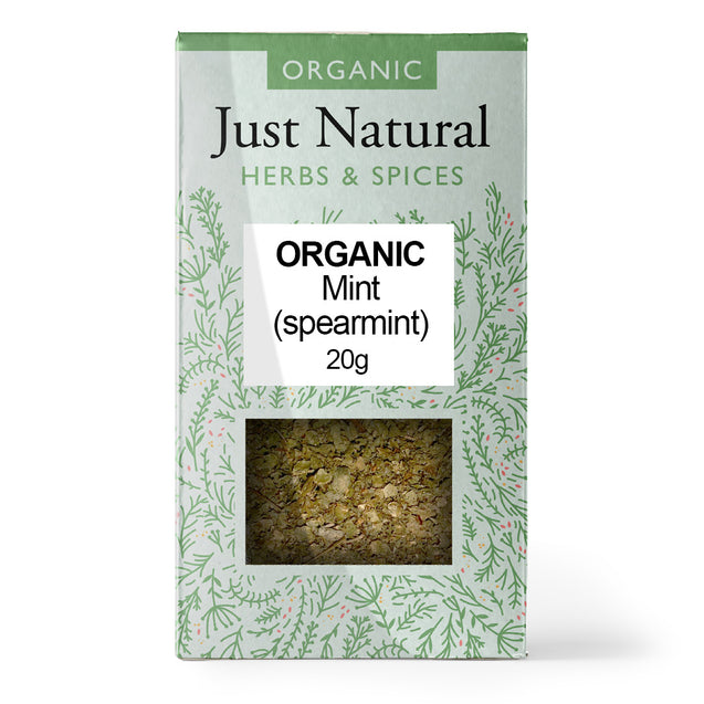 Just Natural Organic Mint (Spearmint) 20g