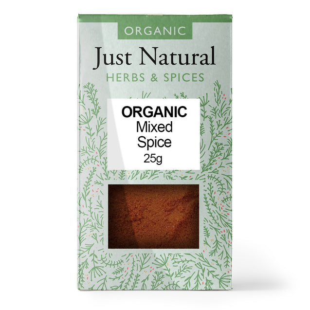 Just Natural Organic Mixed Spice 25g