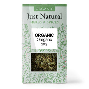 Just Natural Organic Oregano 20g
