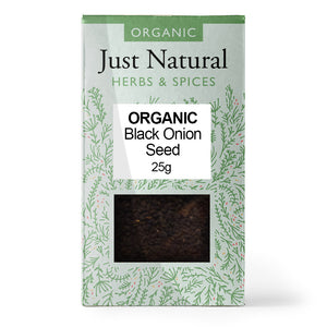 Just Natural Organic Onion Seed Black 25g