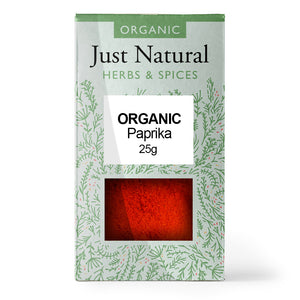Just Natural Organic Paprika 25g