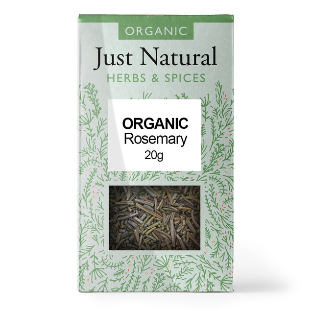 Just Natural Organic Rosemary 20g