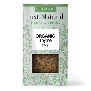 Just Natural Organic Thyme 25g