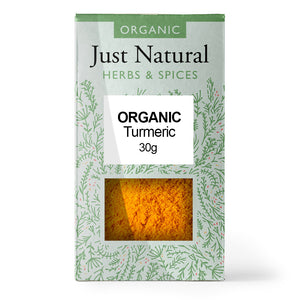 Just Natural Organic Turmeric 30g