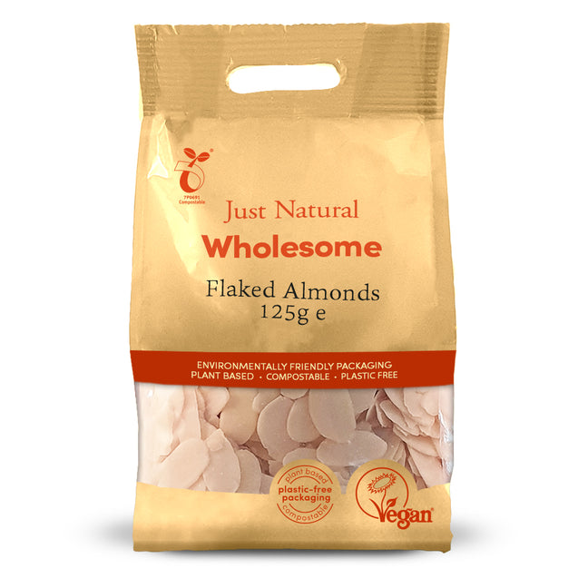 Just Natural Flaked Almond Chips 125g
