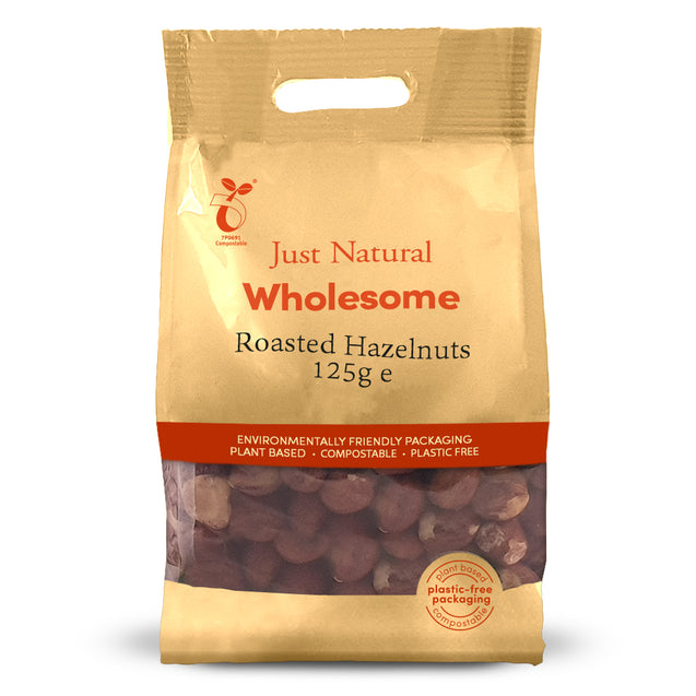 Just Natural Hazelnuts Roasted 125g