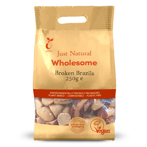 Just Natural Broken Brazils 250g