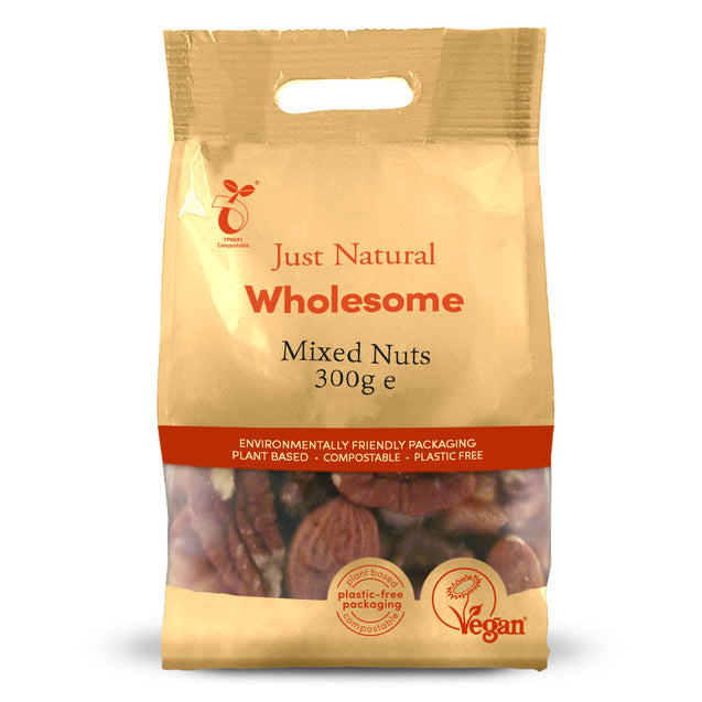 Just Natural Mixed Nuts 300g