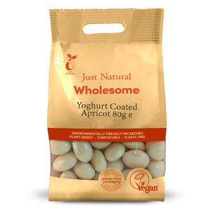 Just Natural Yoghurt Coated Apricots 80g