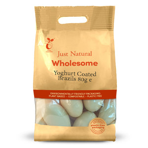Just Natural Yoghurt Coated Brazil Nuts 80g