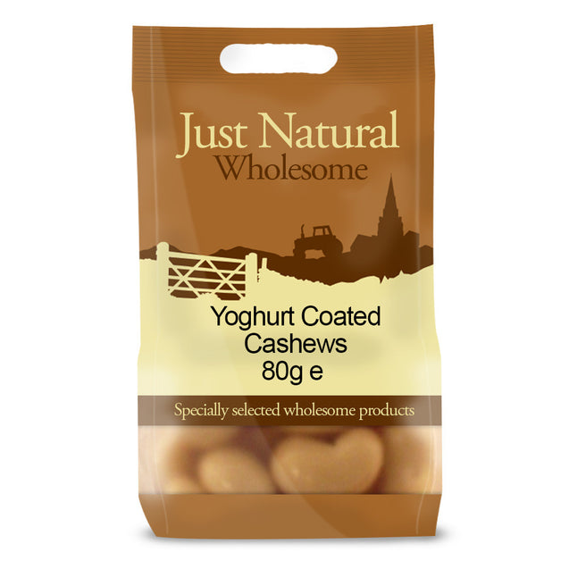 Just Natural Yoghurt Coated Cashews 80g