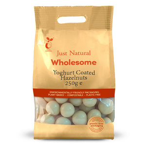 Just Natural Yoghurt coated hazelnuts 250g