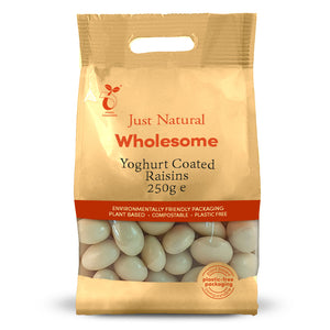 Just Natural Yoghurt Coated Raisins 250g