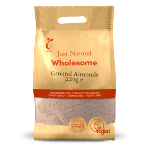 Just Natural Ground Almonds 220g