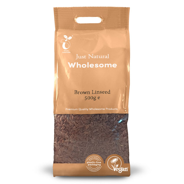 Just Natural Brown Linseed 500g