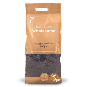 Just Natural Raisins Seedless 500g
