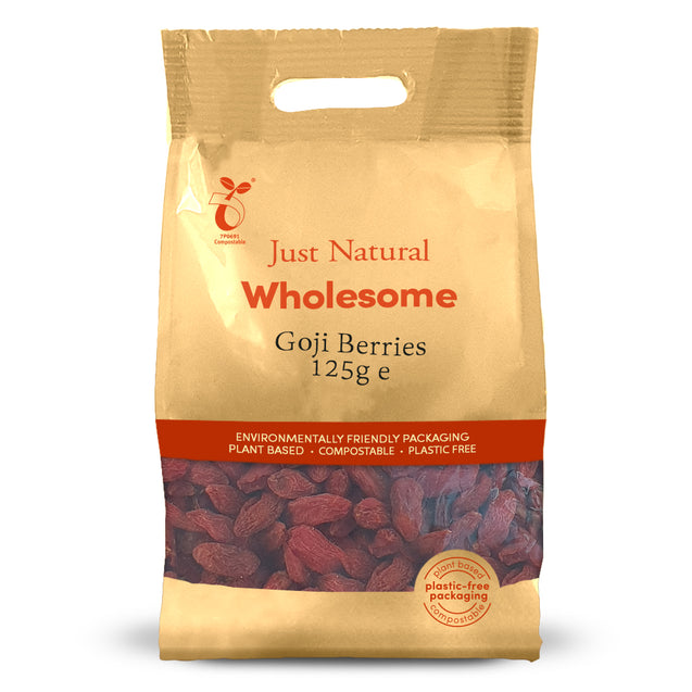 Just Natural Goji Berries 125g