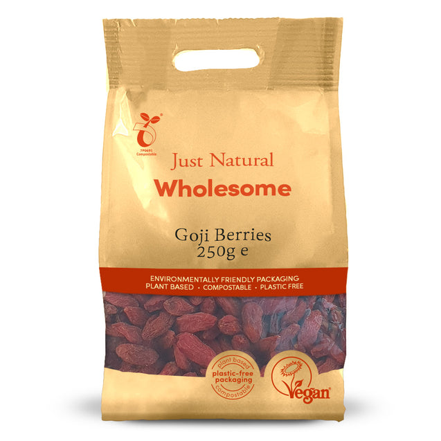 Just Natural Goji Berries 250g