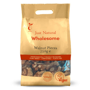 Just Natural Walnut Pieces 250g