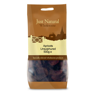 Just Natural Apricots Unsulphured 250g