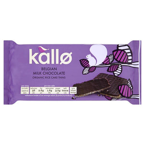 Rice Cakes Milk Chocolate 90 g