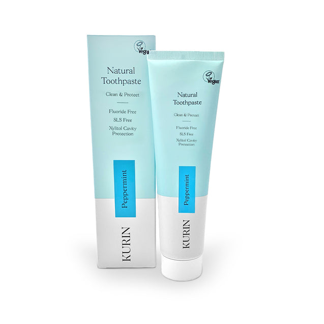 Kurin Fluoride Free Natural Toothpaste 100ml - Peppermint
