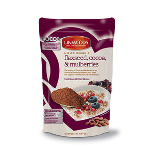 Org Flax Cocoa & Mulberry 200 g