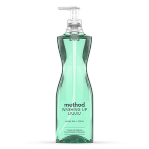 Method Washing Up Liquid Green Tea & Citrus 532ml