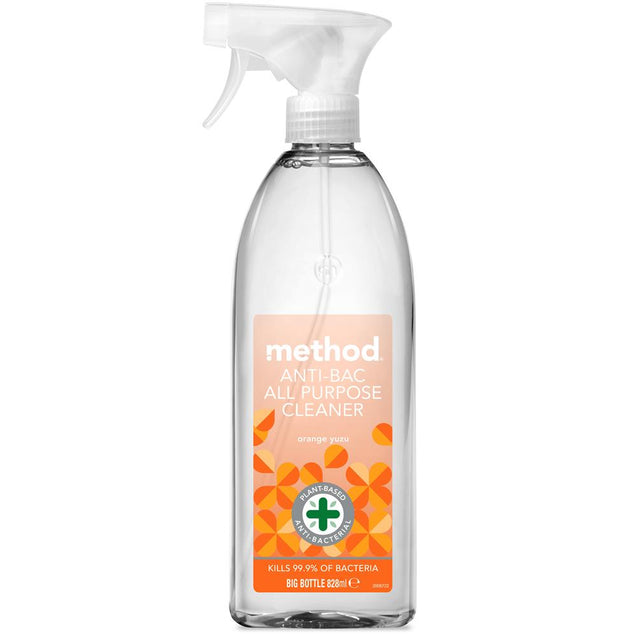 Method Antibac Cleaner Orange Yuzu 828ml