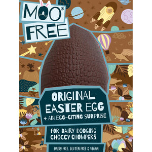 Moo Free Original Egg with Choccy Chum Bar 95g