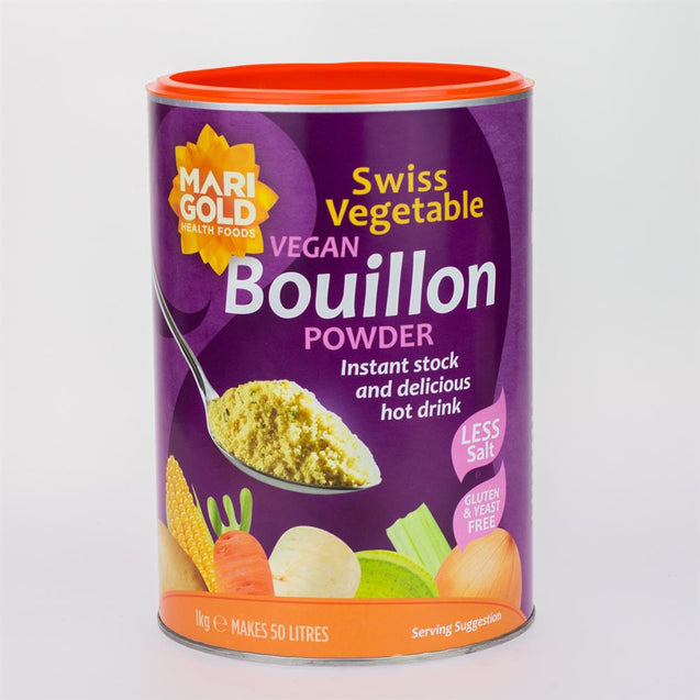 Less Salt Veg Bouillon Powder 1000 g