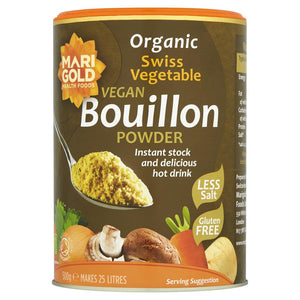 GF ORG Less Salt Veg Bouillon 500 g